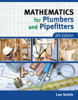 Mathematics for Plumbers and Pipefitters PDF