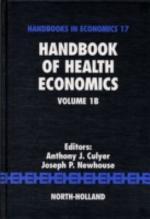 Handbook of Health Economics