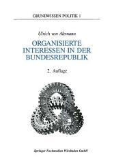 Organisierte Interessen in der Bundesrepublik Deutschland: Ausgabe 2