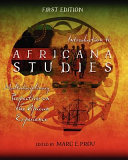 Introduction To Africana Studies Book PDF