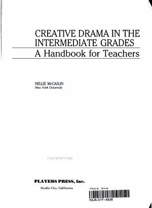 Creative Drama in the Intermediate Grades PDF