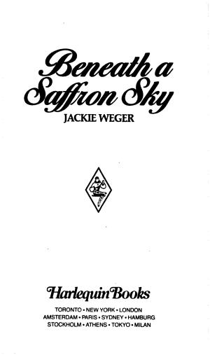 Beneath a Saffron Sky