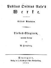 Werke: Liebes-Elegieen, Band 11