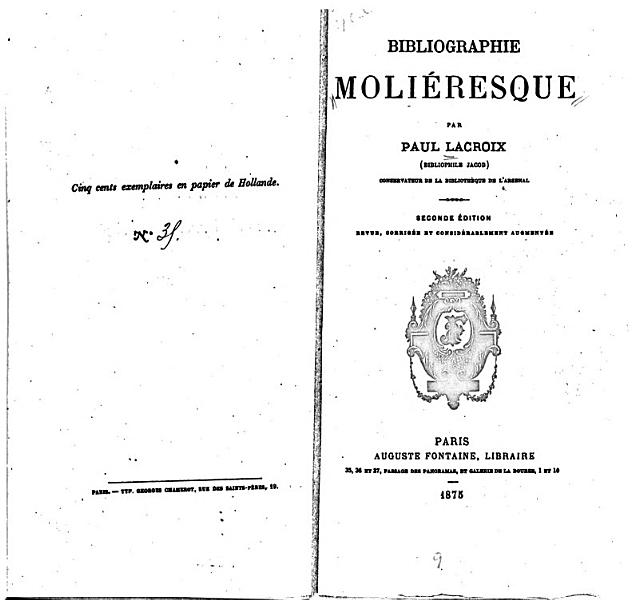 Download Bibliographie Moli  resque Book