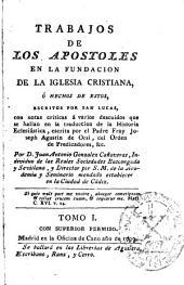 Trabajos de los Apostoles en la fundacion de la Iglesia Cristiana ó Hechos de estos