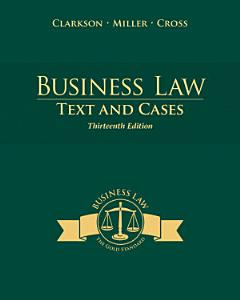 Business Law  Texts and Cases Book