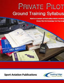 Private Pilot Ground Training Syllabus