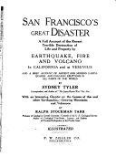 San Francisco's Great Disaster