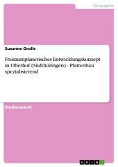 Freiraumplanerisches Entwicklungskonzept in Oberhof (Südthüringen) - Plattenbau spezialisierend