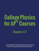 College Physics for AP   Courses Book