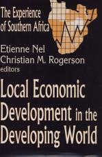 Local Economic Development In The Developing World PDF