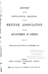 Report of the ... Meeting of the British Association for the Advancement of Science