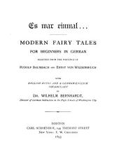Es war einmal: Modern fairy tales for beginners in German