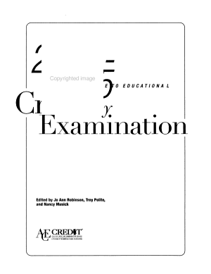 2004 2005 Guide to Educational Credit by Examination PDF
