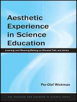 Aesthetic Experience in Science Education PDF