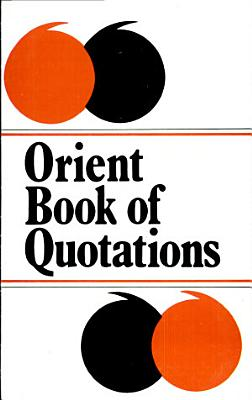 Orient Book Of Quotations