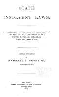 State Insolvent Laws PDF