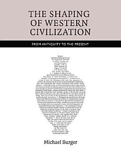 The Shaping of Western Civilization Book