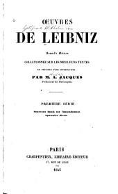 Œuvres de Leibniz: sér. Nouveaux essais sur l'entendement. - Opuscules divers