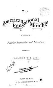 The American Educational Monthly PDF