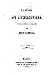La Señora de Sommerville: novela escrita en francés