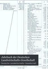 Jahrbuch der Deutschen Landwirtschafts-Gesellschaft: Band 13
