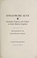Enclosure Acts PDF