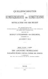 Der Anonimo Morelliano (Marcanton Michiel's Notizia d'opere del disegno): Text und Übersetzung
