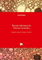 Recent Advances in Porous Ceramics PDF