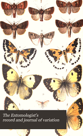 The Entomologist's Record and Journal of Variation: Volume 4