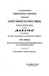 Dinka Ranjine, vlastelina dubrovačkoga Piesni razlike