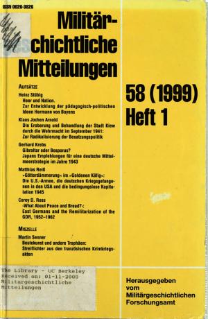Kriegsende 1918 PDF