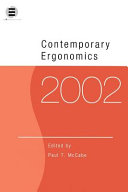 Contemporary Ergonomics 2002
