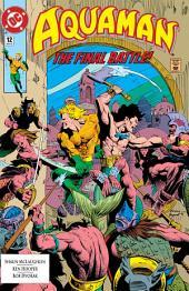 Aquaman (1991-) #12