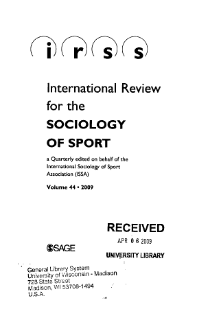 International Review for the Sociology of Sport PDF