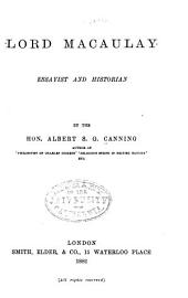 Lord Macaulay, Essayist and Historian