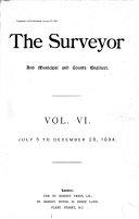The Surveyor and Municipal Engineer