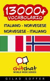 13000+ Italiano - Norvegese Norvegese - Italiano Vocabolario