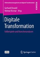 Digitale Transformation PDF