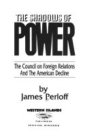 Download The Shadows of Power Book