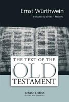 The Text of the Old Testament PDF