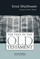 The Text Of The Old Testament Book PDF