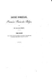 Louise d'Orléans Première reine des Belges: poème couronné par l'Académie royale des sciences, des lettres et des beaux-arts de Belgique, dans la séance publique du 8 mai 1851