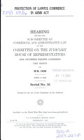 Protection of Lawful Commerce in Arms Act PDF