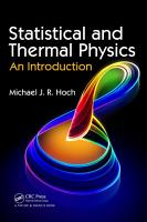 Statistical and Thermal Physics PDF