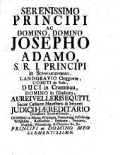 Diss. inaug. iur. Rosenthalii ac aliorum scriptorum feudalium praxin auream exhibens
