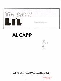 The Best of Li l Abner PDF
