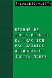 Résumé de 3 minutes du livre Traction de Gabriel Weinberg et Justin Mares