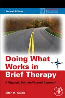 Doing What Works in Brief Therapy PDF