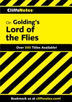 CliffsNotes on Golding s Lord of the Flies PDF
